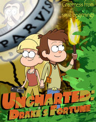 Uncharted: Drakes Fortune Gravity Falls