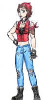 Shadow Girl Character - Rosie