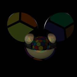 Deadmau5 Hexagon Party 3D Logo Maya Render JPG