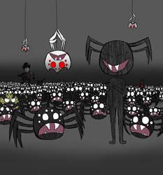 Spider army by sassykatt777