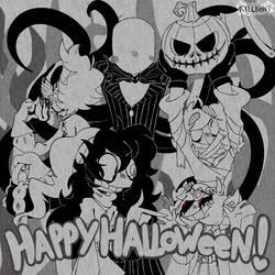 Toontober/Inktober Day 31 - Happy Halloween