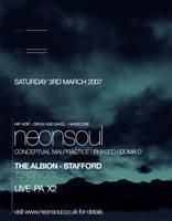 Neonsoul Flyer by notiondigital