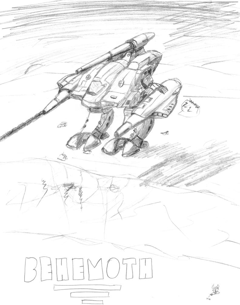 Behemoth by nezroy