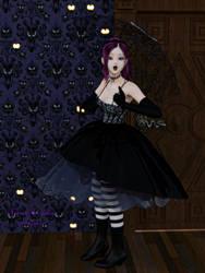 Aiko at Haunted Mansion