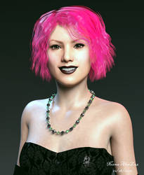 Pink Haired Lady