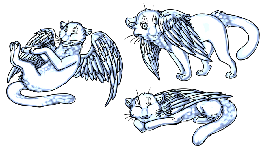 HaikuBaiku Winged_cats_by_strikeoflightining-d4ta1zp