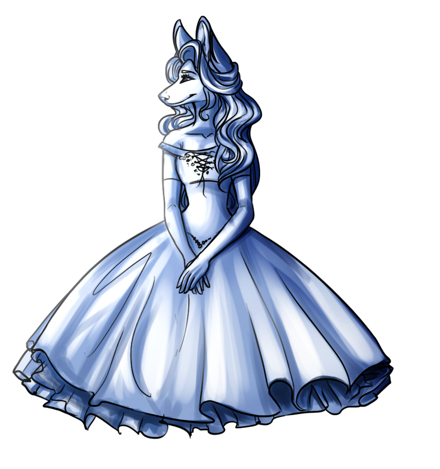 Another Dress Pose by HaikuBaikuu