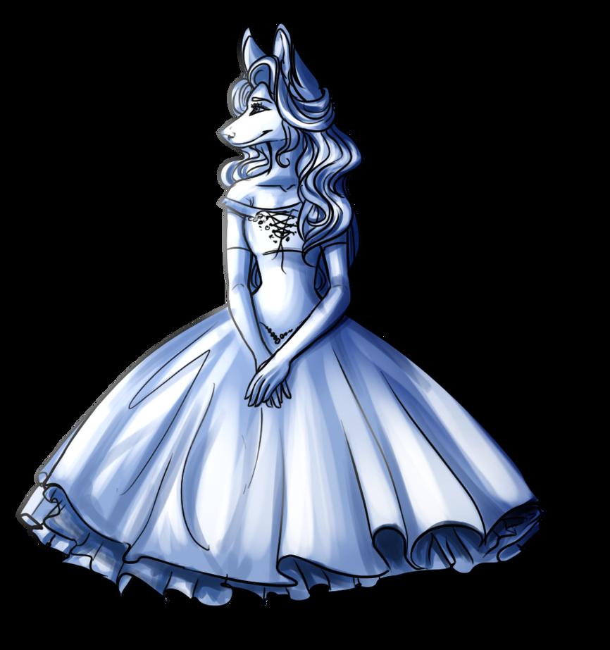 Another Dress Pose by HaikuBaikuu