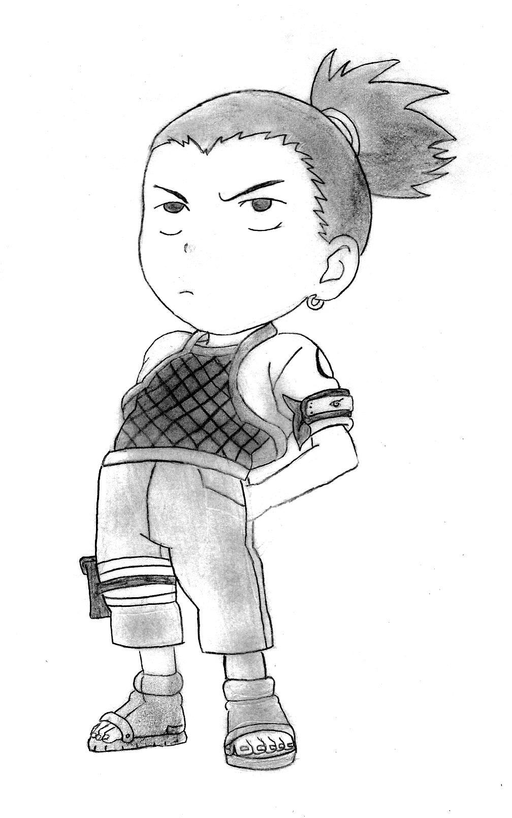 Shikamaru Chibi by Walkenn on DeviantArt