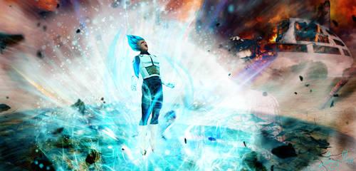 Super Cyan 2 Vegeta by JonnyMars