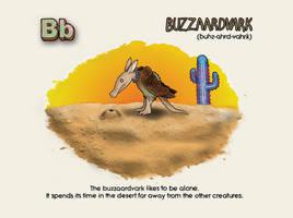 Buzzaardvark by Petzrick