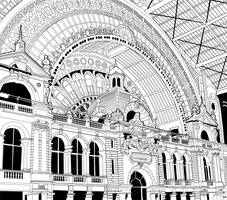 Antwerpen-Centraal Railway Station by Petzrick