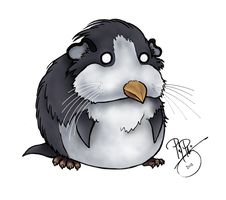 Penguinea Pig by Petzrick