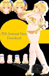TDA Swimsuit Neru download by Ohbey