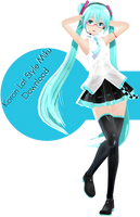 Koron Lat Style Miku Download by Ohbey