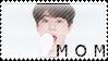 Momma SeokJin Stamp by Ohbey
