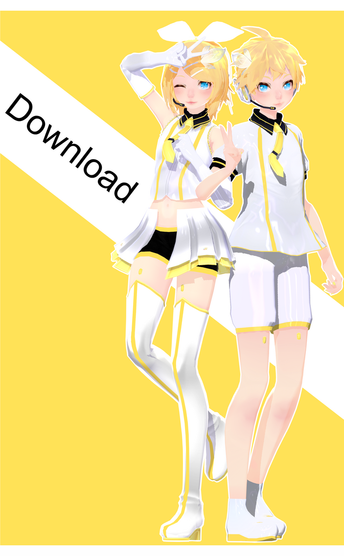 Tda Parade Dancer Len and Rin Download by Ohbey