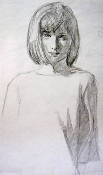 Girl Model Sketch