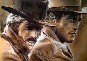 Robert Redford Paul Newman