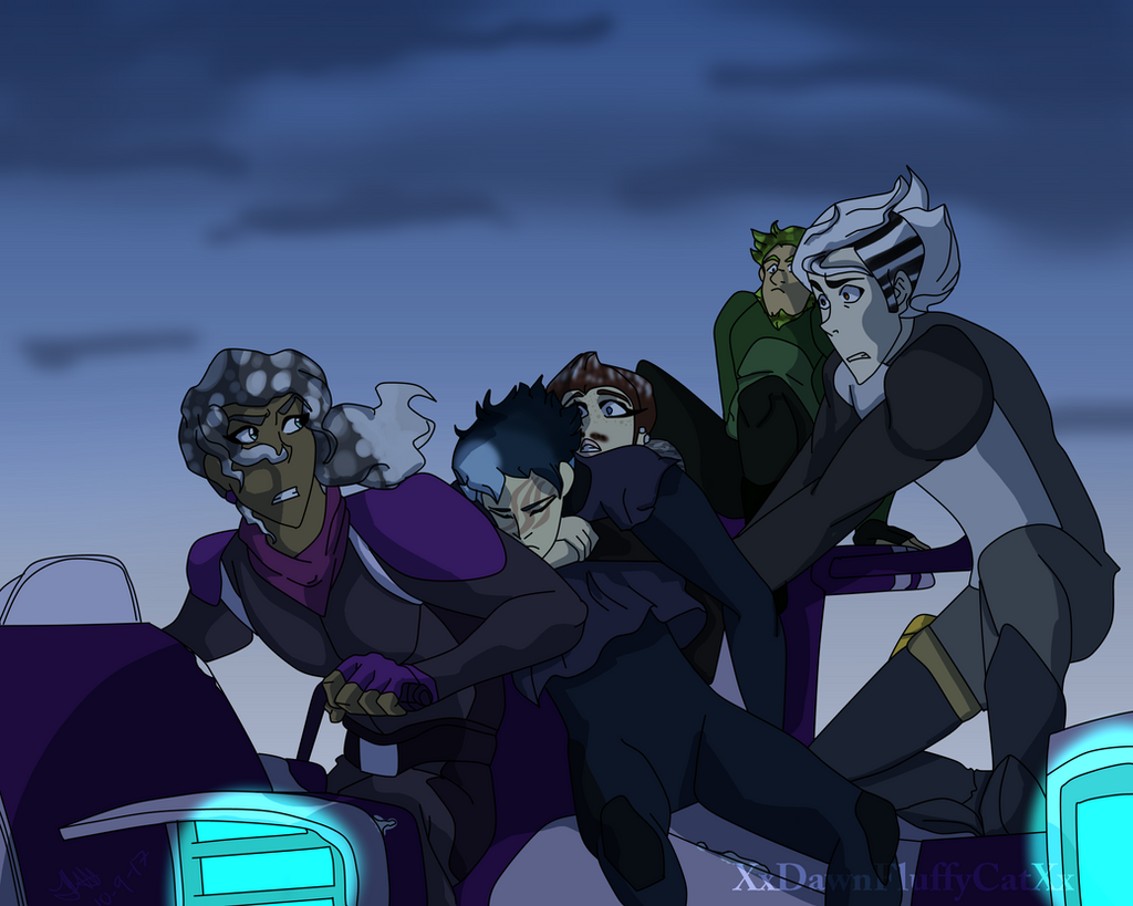 Draw The Squad Voltron By XxDawnFluffyCatXx On DeviantArt