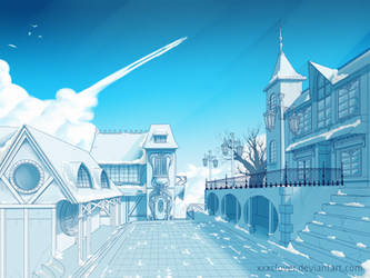 .:morning village:. by xxxclover
