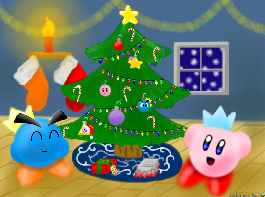 A Kirby Christmas by Zelda5 on DeviantArt