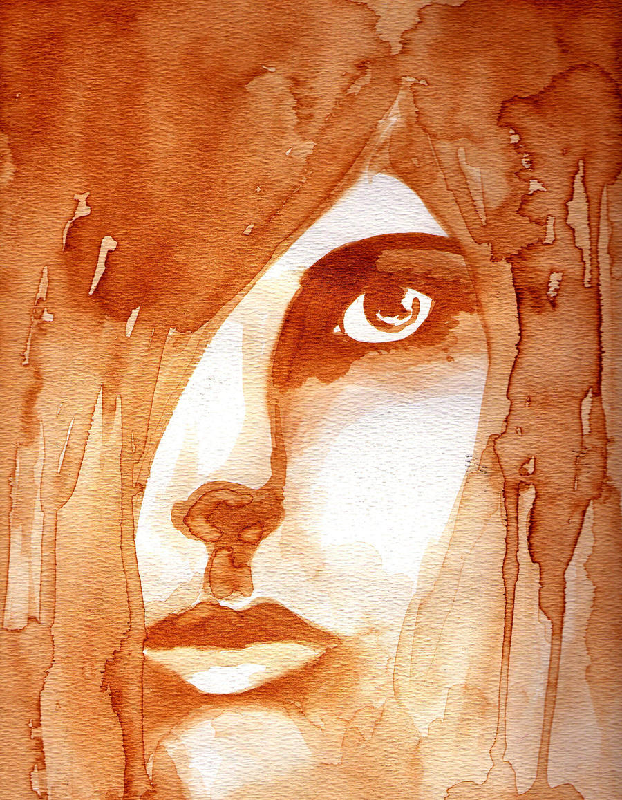 Coffee painting by cowswithguns123 on deviantart for Painting with coffee
