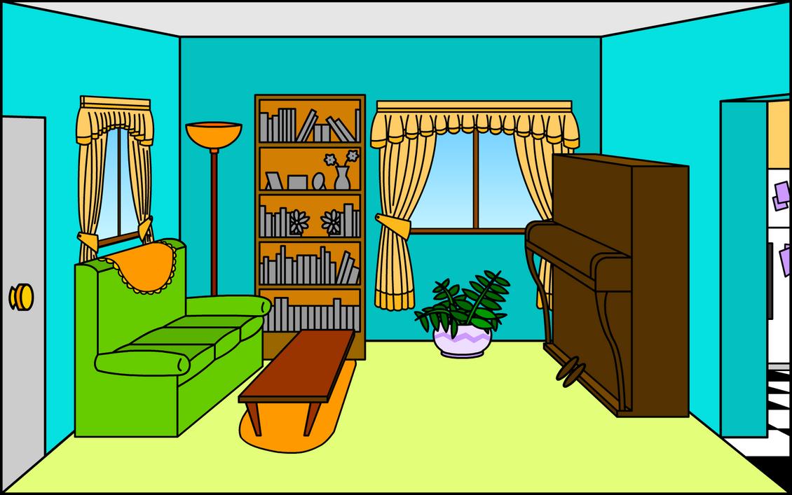 Living Room By Shmuggly On DeviantArt
