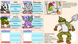 Pokemon Opal Application by Shmuggly