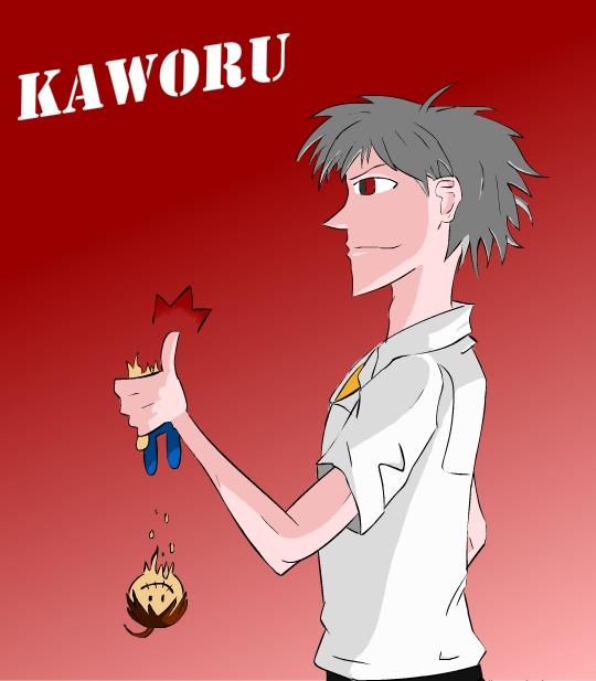 Kaworu by Shmuggly