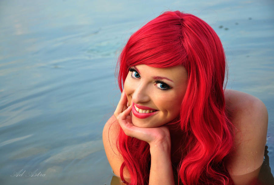 Ariel smile - little mermaid by Yana-Mio