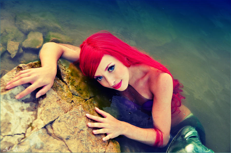 ARIEL - Little Mermaid disney by Yana-Mio