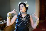 Mistress 9 Art Nouveau 3 by Runarea