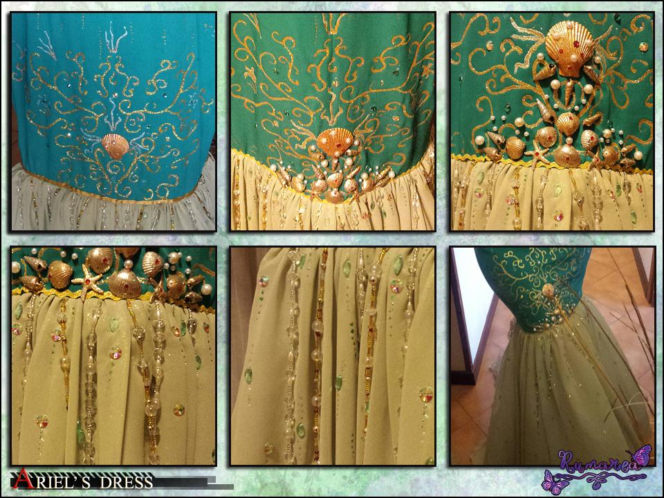 Ariel's Dress wip 3 by Runarea
