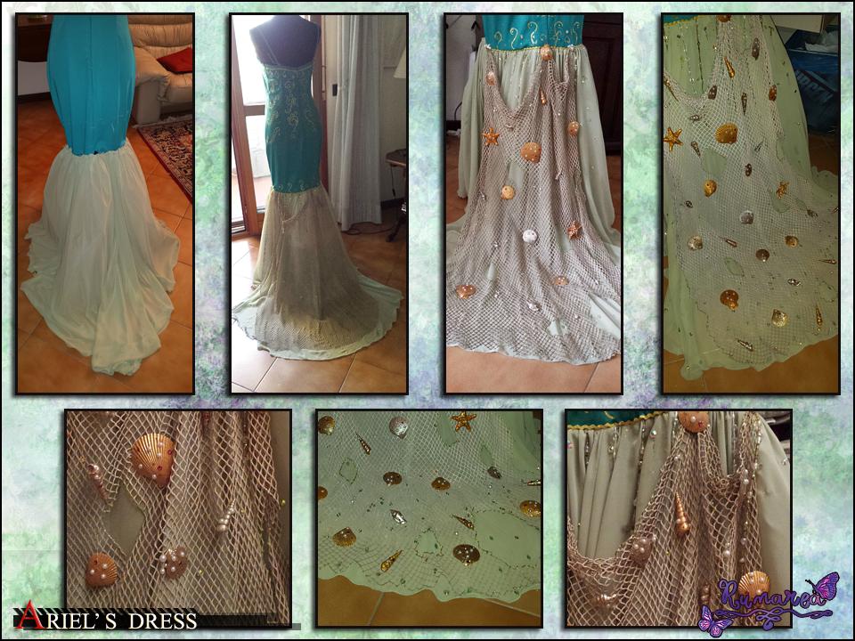Ariel's Dress wip 4 by Runarea