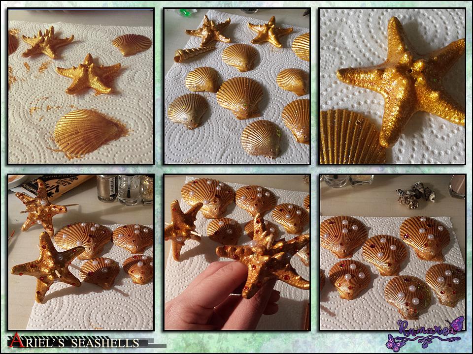 Ariel's seashells by Runarea