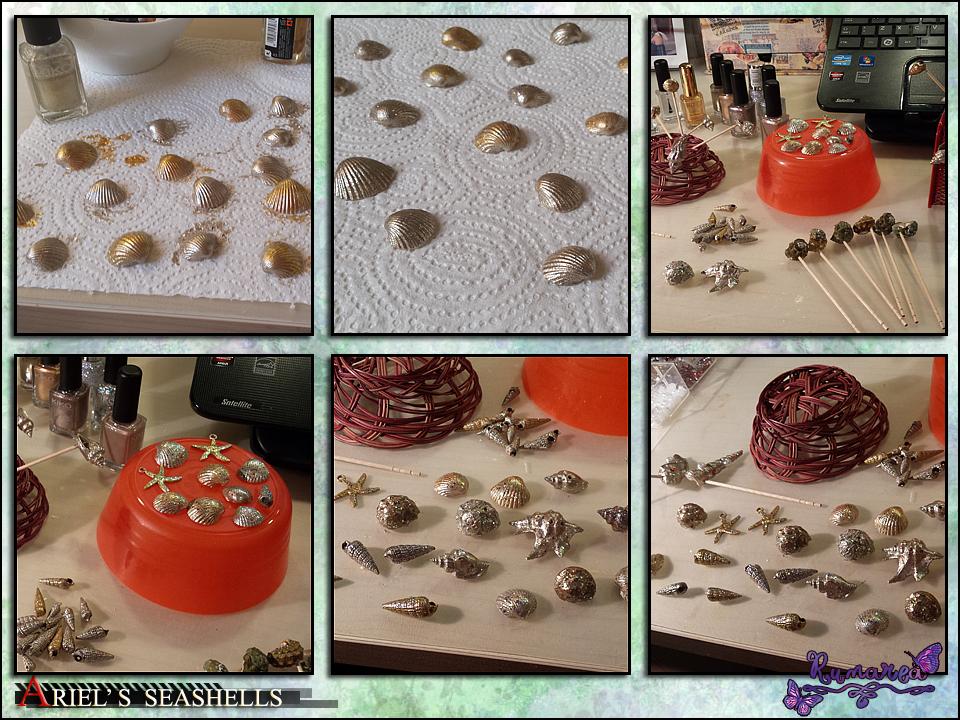 Ariel's seashells 2 by Runarea