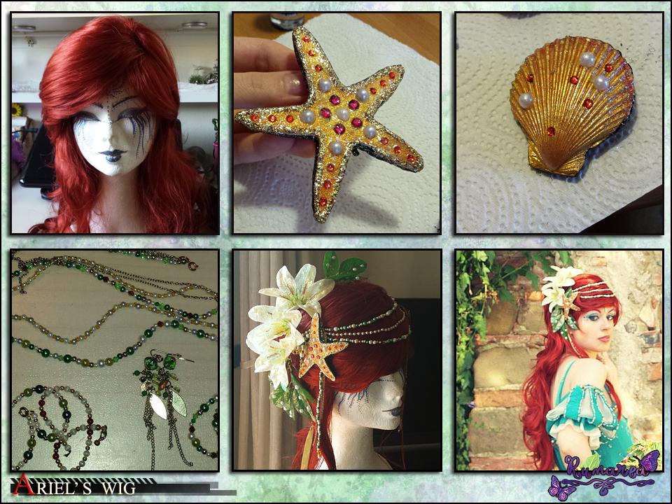Ariel's wig by Runarea