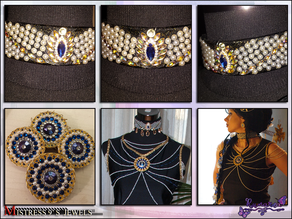 Mistress 9 's Art Nouveau Jewels 3 by Runarea