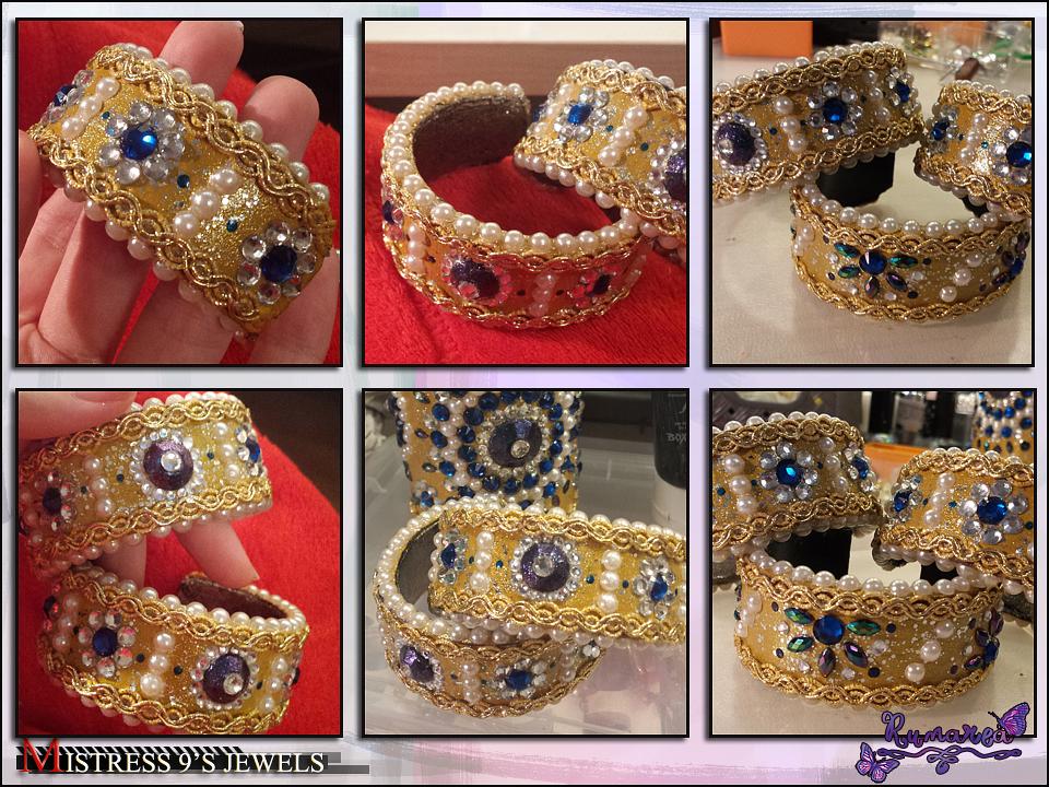 Mistress 9's Art Nouveau Bracelets by Runarea