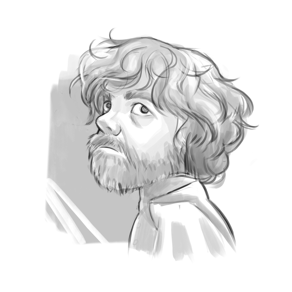 Tyrion sketch by revvriverse