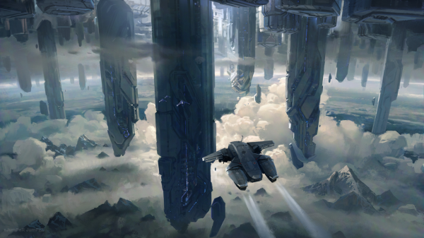 Halo 4 | Concept Art By 343 Industries by Goyo-Noble-141