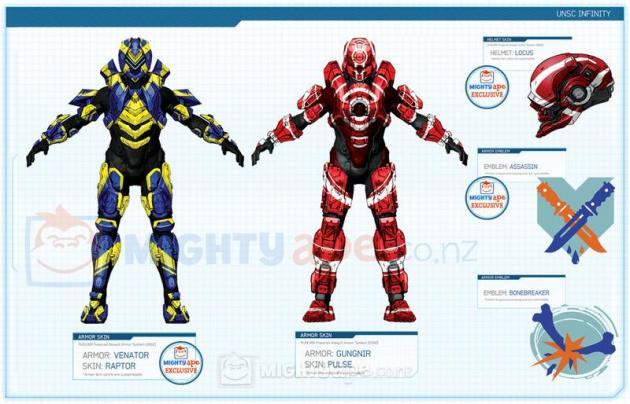 Halo 4 | Venator armor and Gungnir armor Skins by Goyo-Noble-141