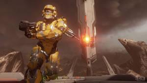 Halo 4   Yellow Spartan lV