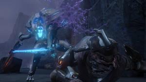 Halo 4   Promethean Knigth and Elite