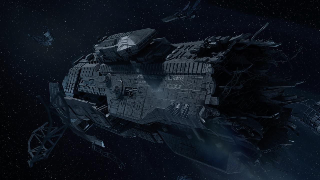 Halo 4 | UNSC Forward Unto Dawn by Goyo-Noble-141