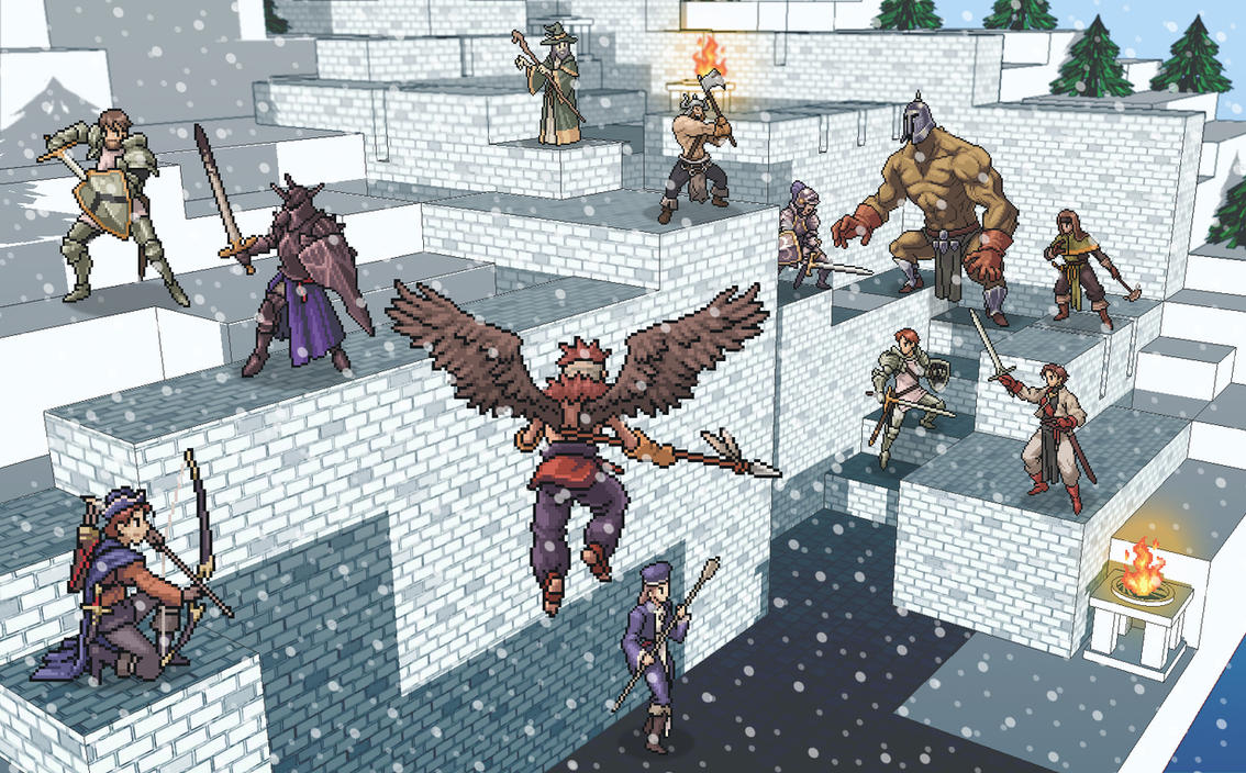 Tactics Ogre : Brigantes Castle by ta2nb