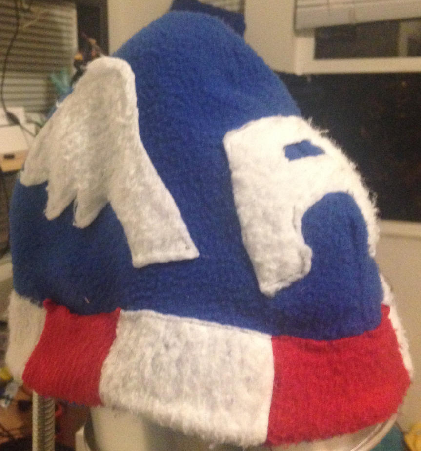 Captain America Fleece Hat by BlizzardSnowstorm