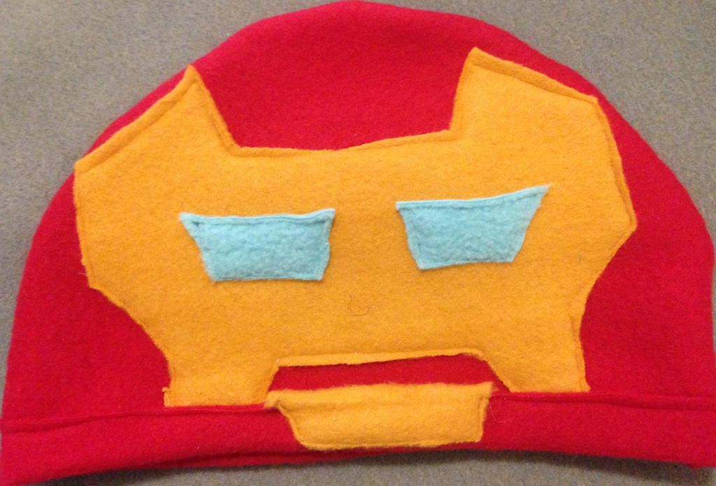 Iron Man Hat by BlizzardSnowstorm