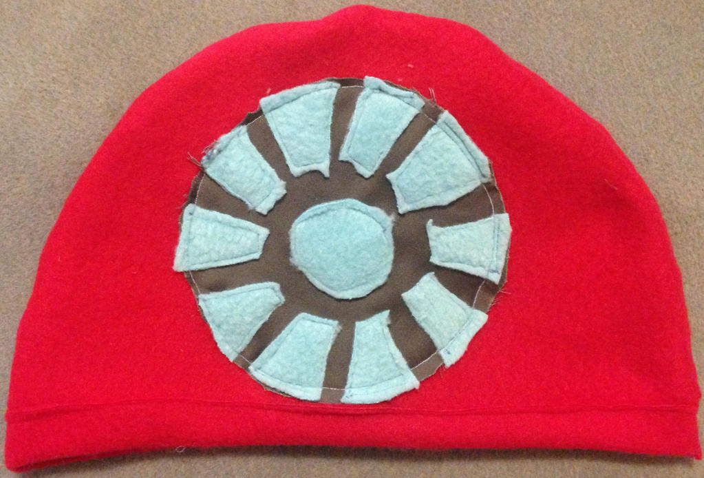 Iron Man Hat (backside) by BlizzardSnowstorm